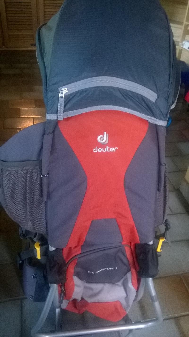 0c95545c85e8 Porte bébé Kid Comfort Plus DEUTER   Avis